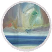 Offshore, Ross Sands Round Beach Towel