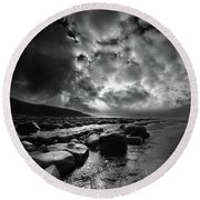 Ogmore By Sea 4 Round Beach Towel