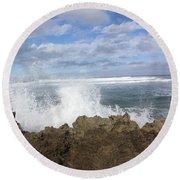 Ohau Splash Round Beach Towel
