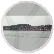 Ohrid Round Beach Towel