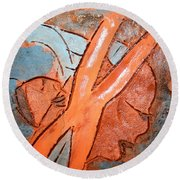 Okuweka - Tile Round Beach Towel