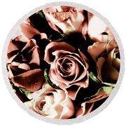Old Kind Of Love  Round Beach Towel