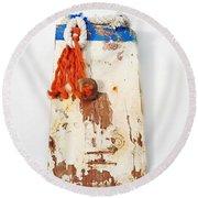 Old Salt Round Beach Towel