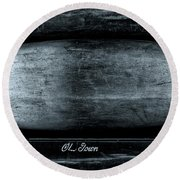 Old Town Canoes Round Beach Towel