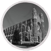 Old West End Our Lady Queen Of The Most Holy Rosary Cathedral II Round Beach Towel