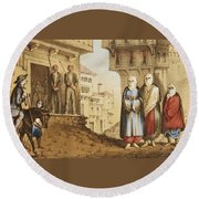 Oldmixon, John Gleanings From Piccadilly To Pera. Round Beach Towel