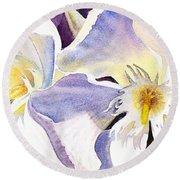 Oleander By Irina Sztukowski Round Beach Towel