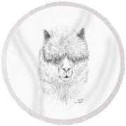 Omily Round Beach Towel