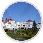 Omni Mount Washington Resort Round Beach Towel