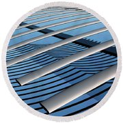 On The Verge Round Beach Towel