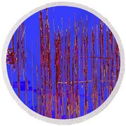 On The Way To Tractor Supply 3 31 Round Beach Towel