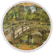 Once Upon A Time 2015 Round Beach Towel