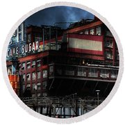 Once Upon A Time In The Sleepy Town Of Crockett California . 5d16760 Round Beach Towel