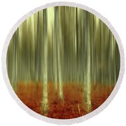 One Day Like This Round Beach Towel