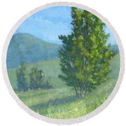 One Fine Spring Day Round Beach Towel by David King