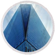 One World Trade Center - Nyc Round Beach Towel