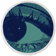 Ones Own Eye Round Beach Towel
