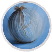 Onion Round Beach Towel