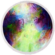Only Time Will Tell Round Beach Towel