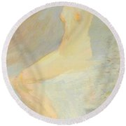 Opal 1895 Round Beach Towel