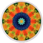 Openly  Round Beach Towel