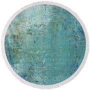 Opt.36.16 Soul Deep Round Beach Towel
