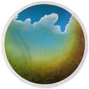 Opt.70.15 Coming Home Round Beach Towel