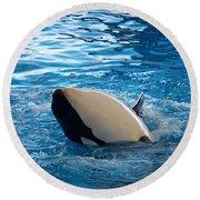 Orca 3 Round Beach Towel