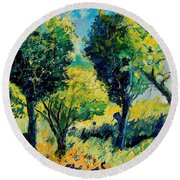 Orchard 562 Round Beach Towel