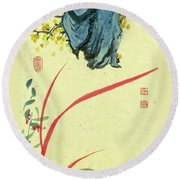 Orchid - 28 Round Beach Towel