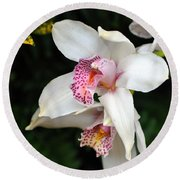 Orchid 29 Round Beach Towel