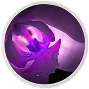 Orchid Of Fantasy Round Beach Towel