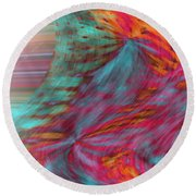 Order Of The Universe Round Beach Towel
