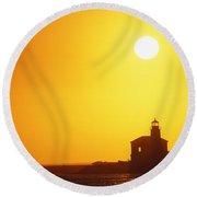 Oregon, Bandon Round Beach Towel