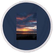 Oregon Coast 11 Round Beach Towel