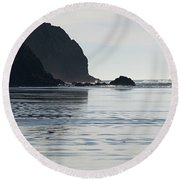 Oregon Commuter Round Beach Towel