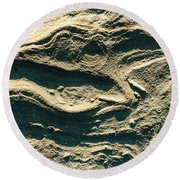 Oregon Sandstone Round Beach Towel