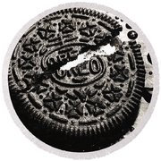 Oreo Cookie Round Beach Towel