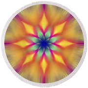 Ornament 5 Round Beach Towel