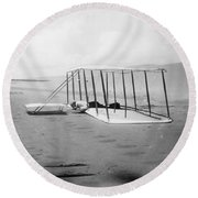 Orville Wright, 1901 Round Beach Towel