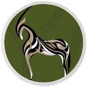 Oryx Round Beach Towel