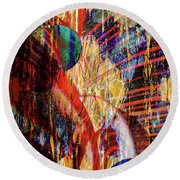 Other Wordly Round Beach Towel