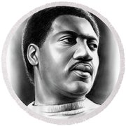Otis Redding Round Beach Towel