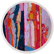 Our Inescapable Duty 2 Round Beach Towel