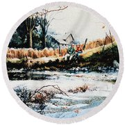 Our Special Place Round Beach Towel