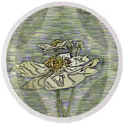 Out Of The Mist 2 Round Beach Towel