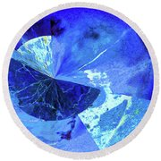 Out Of This World Abstract Round Beach Towel