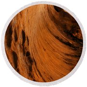 Outback Cavern Round Beach Towel