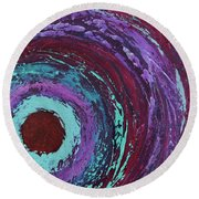 Outer Bands Round Beach Towel