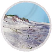Outer Banks 2 Round Beach Towel